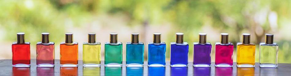 12本のカラーボトル